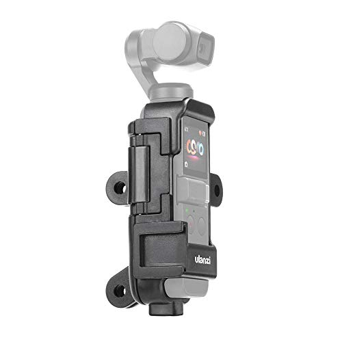Ulanzi OP-7 Multifunctional Vlog Extended Housing Case for dji Osmo Pocket with Microphone Cold Shoe Mount 1/4 Inch Screw Mount...