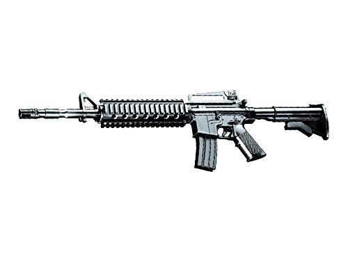 Rayline 223-A7 Plastik Softair Gewehr (Federdruck) Gewicht 225 g, 6mm Kaliber, Farbe: Schwarz/Black, Energie: <0.5 Joule