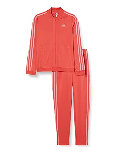 adidas GM5581 W 3S TR TS Tracksuit womens crew red/hazy rose XS