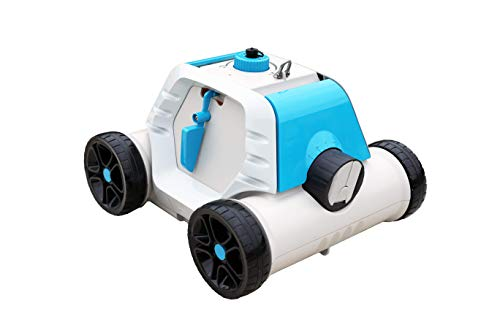 Bestway 58519 Robot électrique autonome Thetys pour piscine à fond plat, batterie rechargeable