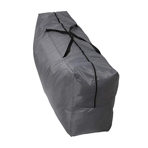 YORKING Kissenschutz Aufbewahrungsbeutel Auflagentasche Regenschutztasche Wetterschutz für Hochlehner 130 x 32 x 50 cm