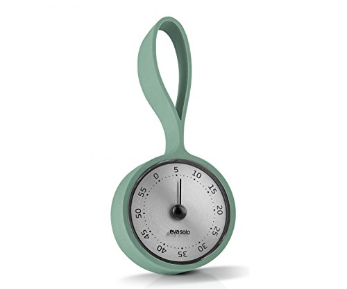 EVA SOLO Timer mit Schlaufe, Kunststoff, Grün, 14,6 x 6,8 x 2,8 cm