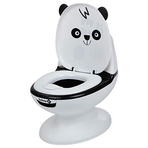 Safety 1st Mini Toilettes pour bébé / Pot pour Bébé Panda avec bruit chasse d'eau