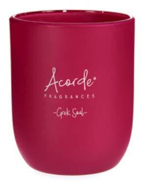 Velas aromáticas (120 g, aroma de orquídeas, lavanda, fresas y nata, té verde)