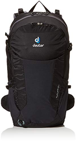 Deuter Unisex-Adult Futura 24 Rucksack, Black, 52 x 26 x 18 cm, 24 L