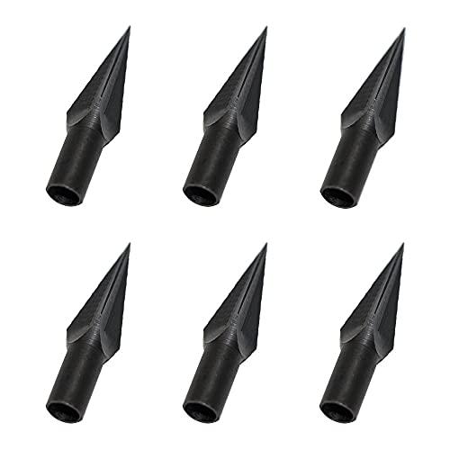 ANELLO 6 pièces Pointes de flèche 119 têtes de Chasse aux Grains Pointes de flèche de tir à l'arc pour boulons d'arbalète et flèches en Bois Arc Classique composé
