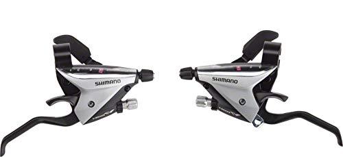 SHIMANO ST-EF65-2A 3 x 8-Speed Brake/Shift Lever Set Silver