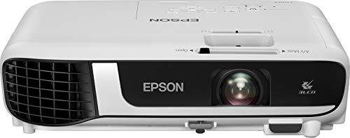 "Epson EB-X51 | Proyector XGA de 3800 lúmenes | Contraste 16000:1 | Lámpara Larga Duración 12.000 Horas | Pantalla hasta 300"" | Tecnología 3LCD"