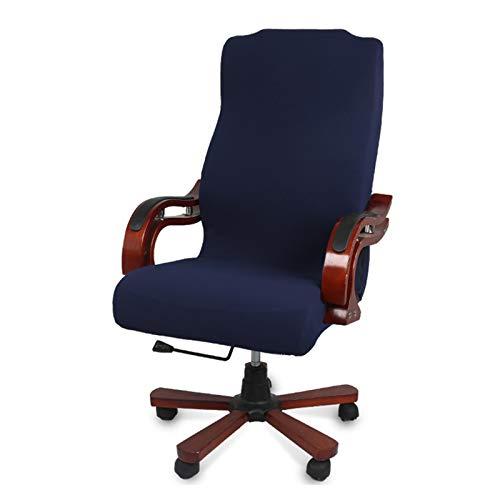 WENBING - Fodera per sedia da ufficio in tessuto jacquard, modello universale, stile moderno, semplice e alla moda