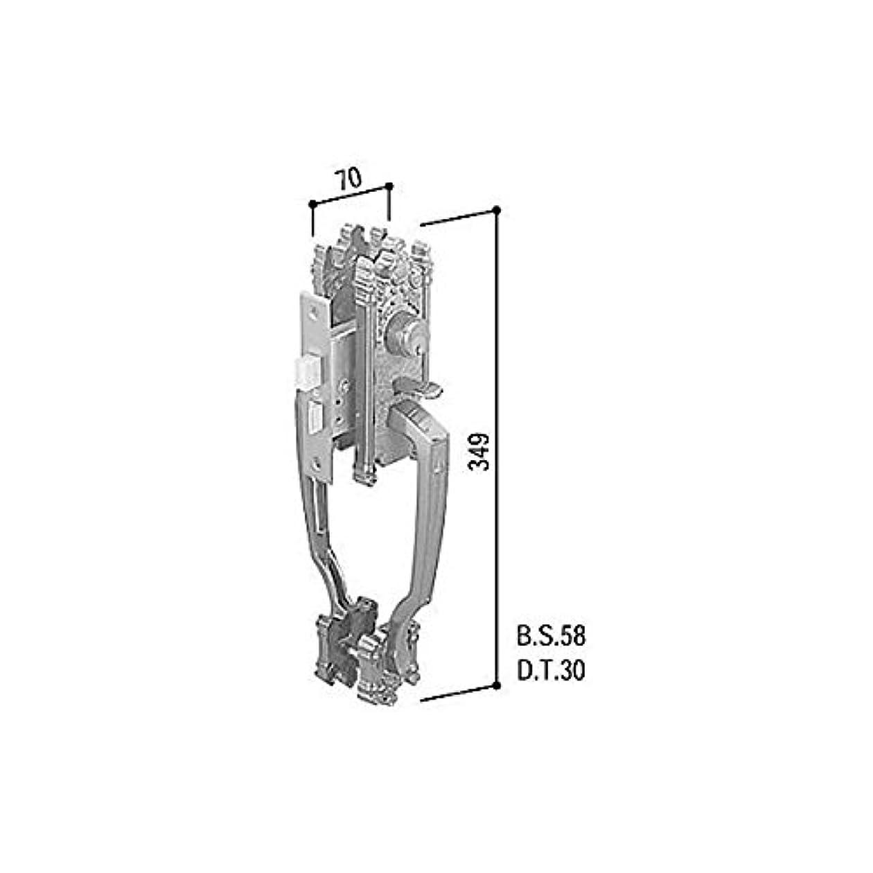 娯楽バドミントン管理者YKKAP メンテナンス部品 サムラッチハンドル錠セット (HH-J-0233) YB:ブロンズ *製品色?形状等仕様変更になる場合があります*
