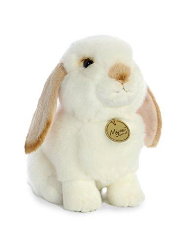 Aurora - Miyoni - 11' Lop Eared Rabbit with Tan Ears, White and Tan