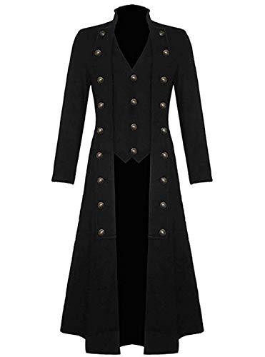 Adelina heren vintage frack Steampunk gothic jack Victoriaans lange mantel carnaval fashion slionable Completi cosplay kostuum smoking jas uniform