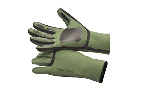 SNOWBEE SFT Neopren-Handschuhe, Olivgrün/Schwarz, XXL