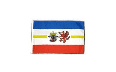Fahne Flagge Deutschland Mecklenburg-Vorpommern 30 x 45 cm