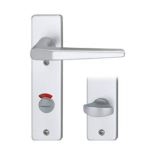 Schössmetall 10040650 Kosmos, Türgriff (Kurzschild), Badezimmer(WC)-Ausführung
