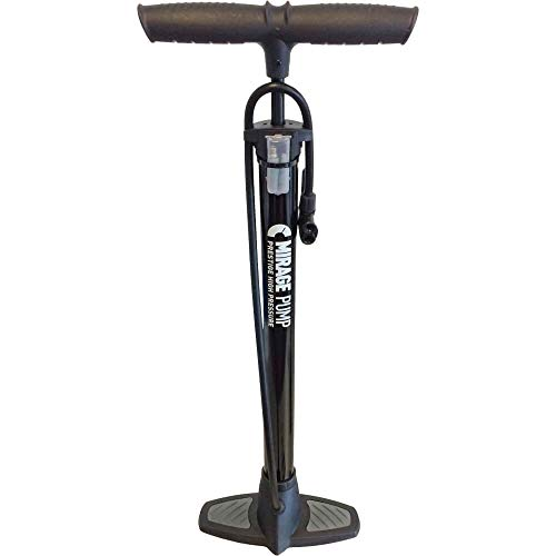 MIRAGE Unisex-Adult E-Bike und Fahrrad Rückspiegel mit leicht getöntem Glas, verstellbar Spiegel Mit Klammer, Drehbares, Lichtverdunkelndes, Schwarz, S