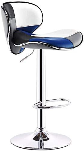 HIGHKAS Computer Stuhl Hebestange Hochhocker Drehbare Bürostühle 24 Zoll Hochsitz Verstellbarer Barhocker Stuhl mit Rückenlehne Schreibtischstühle aus Leder