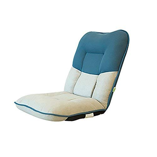 Cxjff Faules Sofa Dickeres Sofa mit Rückenlehne for einen Picknick-Schlafsaal Sofa Chair Balcony Chair (Color : Blue.)