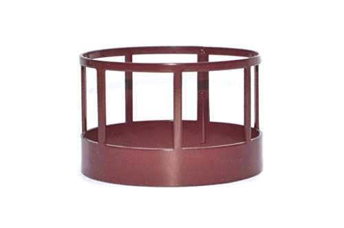 Little Buster Toys Hay Feeder - Round Bale Hay Feeder in Red  1/16th Scale