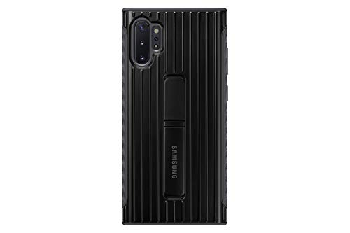 Samsung Galaxy Note10+ Case, Rugged Drop Protection Cover - Black (US Version with Warranty) (Renewed)