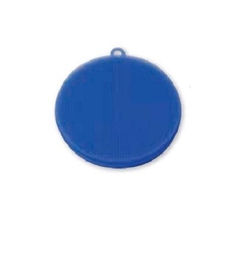岡部洋食器 シリコン たわし ブルー TW-03