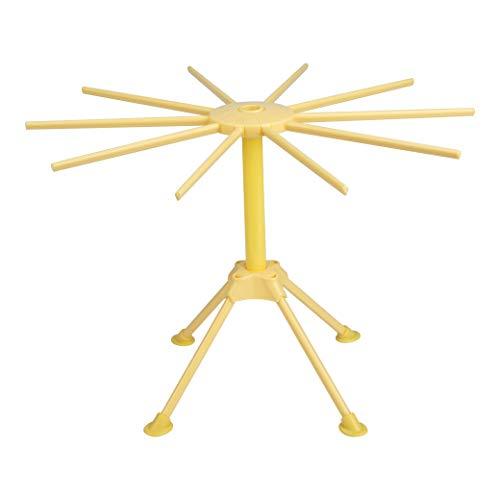 Secador de Pasta Estante de Secador de Fideos Plegable Soporte de Secado para Pasta Espagueti Frescos Hechos A Mano Cocina