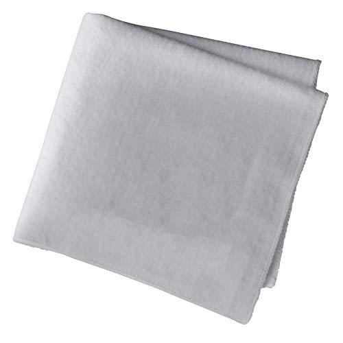 Woly Unisex Erwachsene Polishing Cloth 30x35cm Schuhcreme & Pflegeprodukte, Grau (Grey), Einheitsgröße