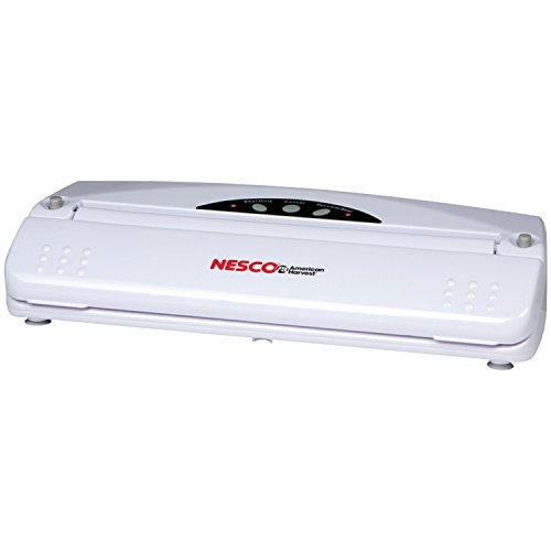 Nesco RA26857 Vacuum Sealer (110-watt White)