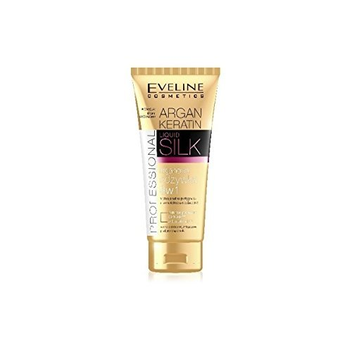Eveline ARGAN keratine haarverzorging, 8IN1 Professional LiQuid Silk, 200 ml