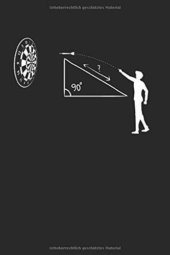 Darts Mathematik Dart Dartpfeil: Dart & Darts Notizbuch 6\'x9\' Dartspieler Geschenk für Darten & Darter