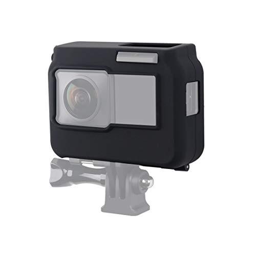 XINGRUI Cámara de Alta tecnología for Insta360 un R panorámica con Marco de Silicona Protectora a Prueba de Golpes (Negro) (Color : Black)