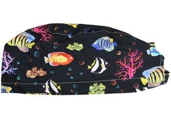 GIMA FANTASY CAP - Reef - Tamaño mediano (M), recomendado para hombres y mujeres con cabello corto o medio largo.