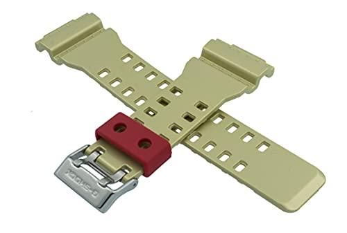 Cinturino per orologio Casio GA-100CS-4A GA 100CS 100 CS oro rosso 10477354