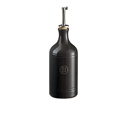Emile Henry Oil Cruet, Charcoal