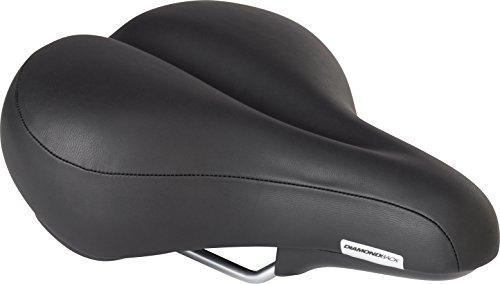 Diamondback Men#039s Pillow Top Bicycle Saddle Black