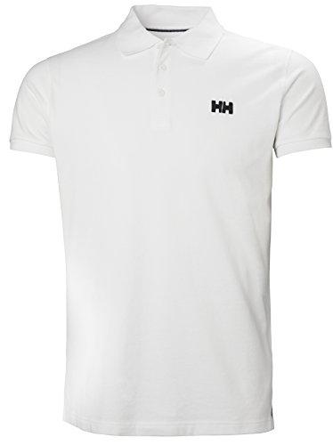 Helly Hansen Transat Polo, Hombre, Blanco (Blanco 001), XL