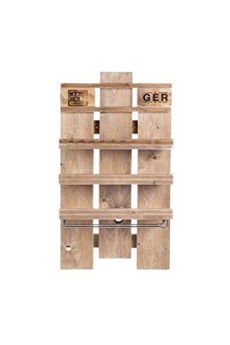 Palettenmöbel Weinregal in Palettenoptik Vintage gebeizt. Jedes Möbel ein Unikat und in Handarbeit in Deutschland hergestellt.