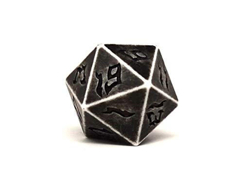 Dice of The Giants - Stone Giant D20 - Huge 48mm Dice