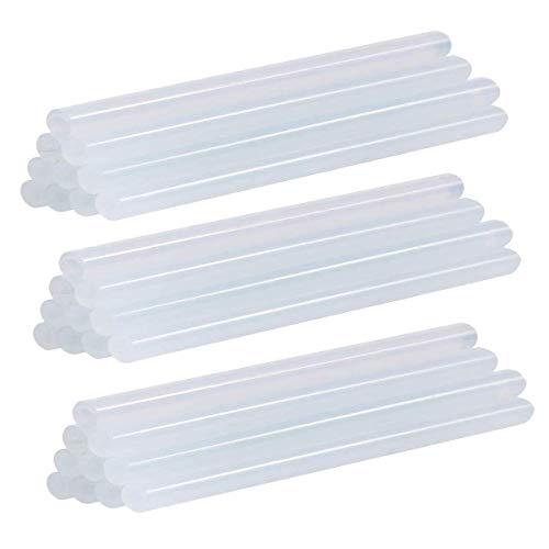 Heißklebe-Sticks, 7 mm x 180 mm, für Heißklebepistole, handgefertigt, 30 Stück