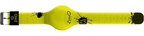 Orologio digitale ZITTO FLUO in silicone giallo PUNCHYYELLOW-MAX-GD