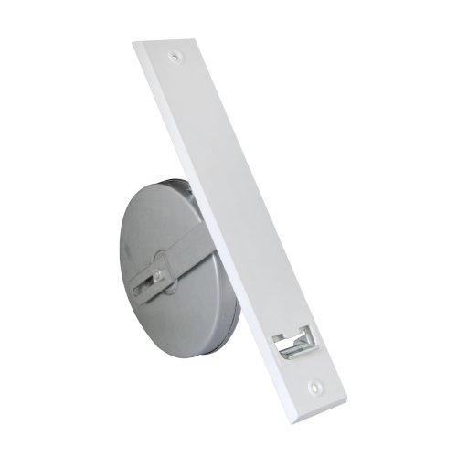 JAROLIFT Getriebe-Gurtwickler inkl. Kunststoff-Abdeckplatte, weiss/Lochabstand: 260mm