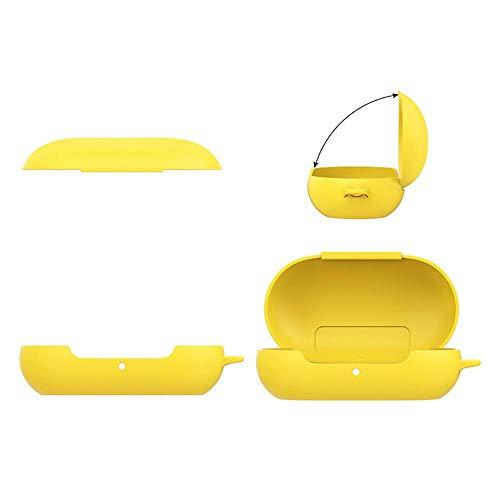 Ritapreaty Protective Headphone Case mit Haken für Samsung Galaxy Buds Bluetooth Sport-Kopfhörer Portable Kunststoff Fallschutz All Inclusive Shell