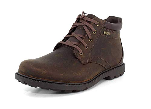 Rockport Rugged Bucks Herren-Stiefel, wasserdicht, (hautfarben), 38.5 EU