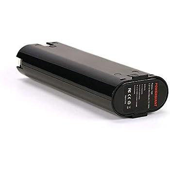 3000mAh Batteria per MAKITA 6015D Capacit/à elevata Ni-MH 7.2V
