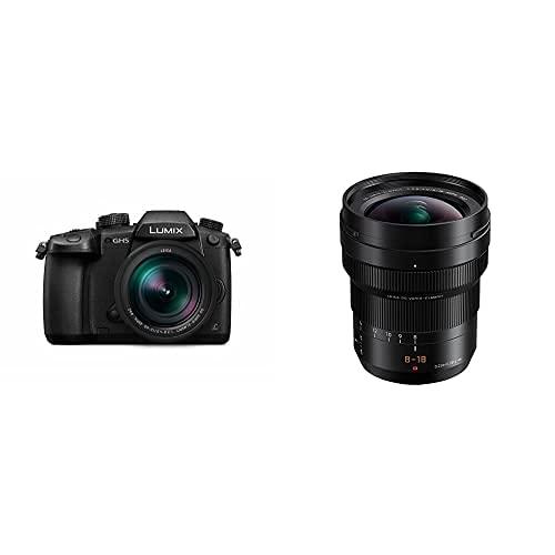 Panasonic Lumix DC-GH5L - Cámara Evil de 20.3 MP + Panasonic Leica DG Vario-ELMARIT H-E08018 - Objetivo Gran Angular para cámaras de Montura M4/3