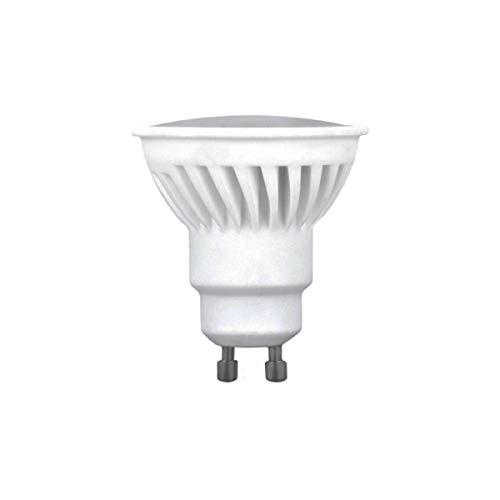 Bombilla Dicroica LED GU10 10W 120º Cerámica Tono de Luz Blanco Neutro