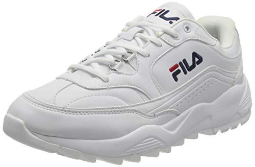 FILA Overtake men Herren Sneaker, Weiß (White), 43 EU
