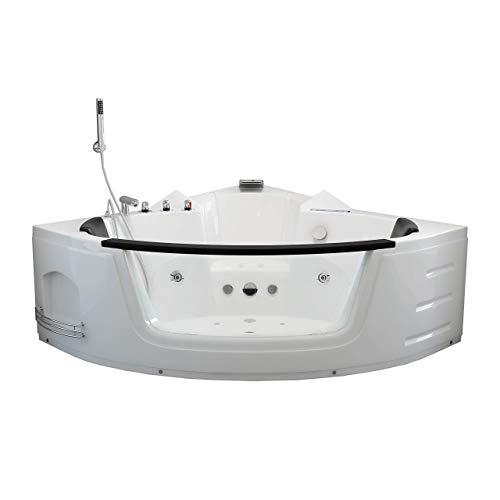 Home Deluxe | Whirlpool | Laguna L | weiß | kompakt | inkl. vielen Extras