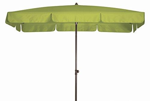 Doppler Absolut wasserdichter Gartenschirm Waterproof 185x120 Pistazie, UV-Schutz 80, Made IN Austria