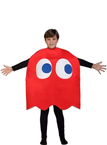 Funidelia | Costume da Fantasma Blinky - Pac-Man...